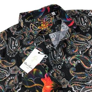 Robert Graham Mens Paisley  Sport Shirt